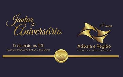 Jantar de Aniversário – 13 anos Atibaia e Região C&VB