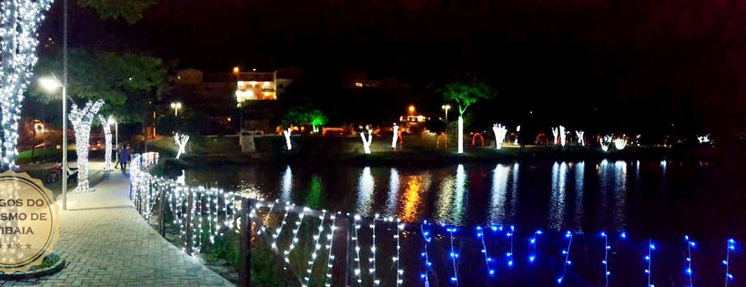 Projeto Luzes de Natal – Lago do Major iluminado pode ser visitado até janeiro
