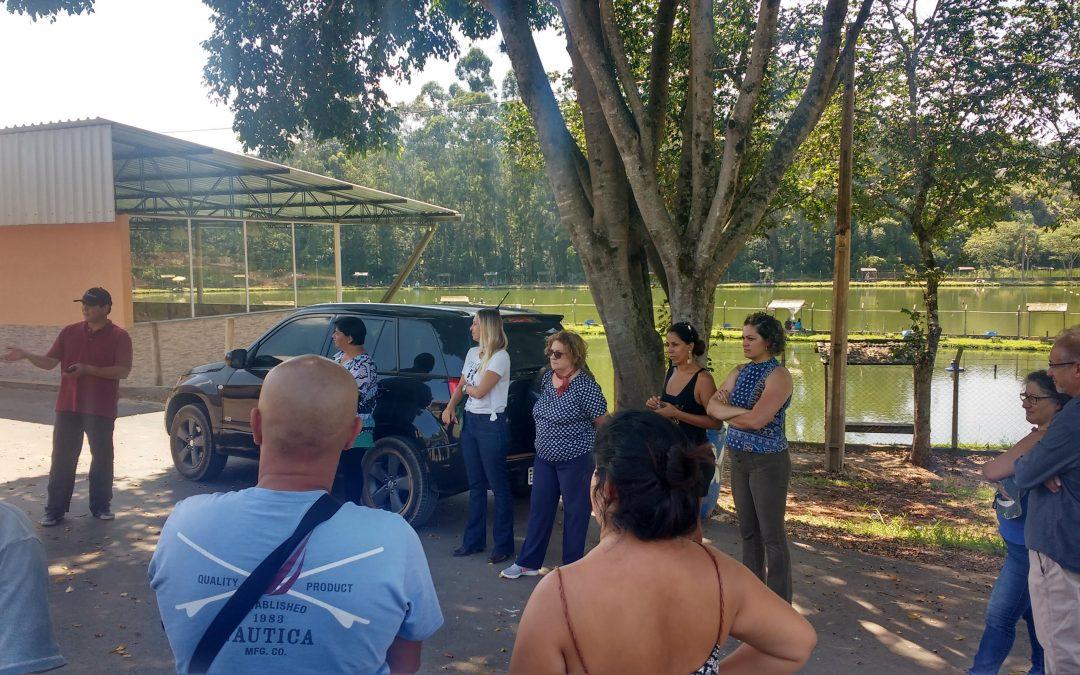 Representantes do Turismo de Araxá/MG, vieram conhecer o modelo de negócio do ARC&VB