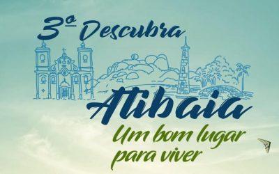 Programação do 3º Descubra Atibaia