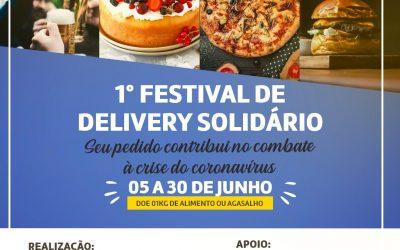 Junho terá o 1º Festival de Delivery Solidário para aquecer a economia em Atibaia